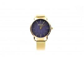 Ceas de mana dama casual, de culoare aurie - elegant Geneva - GV433GN