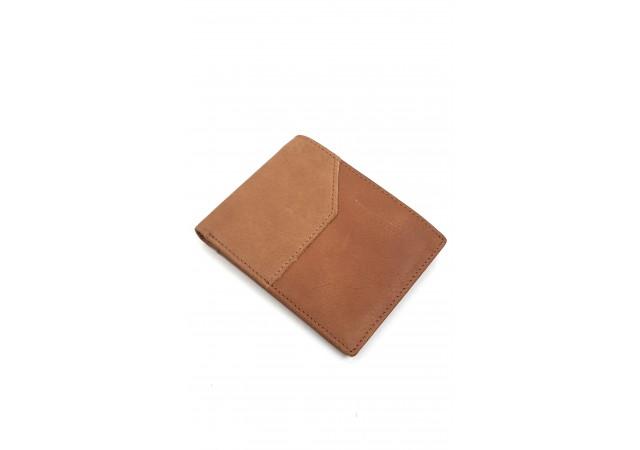 Portofel pentru barbati, din piele naturala, de culoare maro - CH1101M