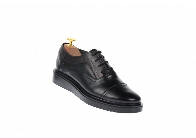 Pantofi dama casual din piele naturala, platforme ortopedice, P29N2ORTO