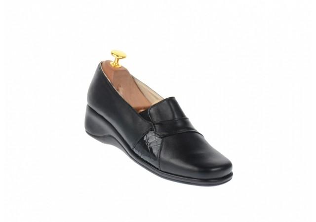 Pantofi dama casual, piele naturala, Made in Romania P10NBOXLCR