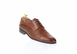 Pantofi barbati office, eleganti din piele naturala maro - 085MPBOX