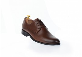Pantofi barbati eleganti din piele naturala maro, SIR769SM