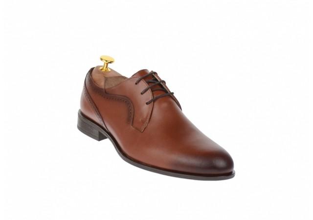 Pantofi barbati lux - eleganti din piele naturala - cod 020M