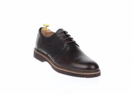 Pantofi barbati casual din piele naturala maro SIR26M