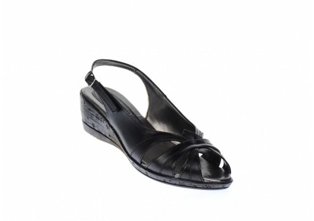 Oferta marimea 36, 38 Sandale dama din piele naturala, cu platforma - LS52N