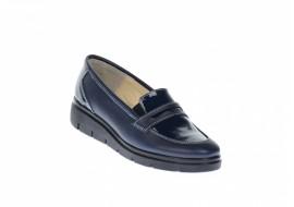 Marimea 38, Pantofi dama casual din piele naturala, foarte comozi - LP105BLBOXLAC