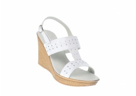 Sandale dama din piele naturala box, platforme de 8 cm S46ABOX