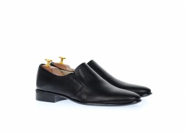Pantofi barbati eleganti din piele naturala, cu elastic NIC142NEL