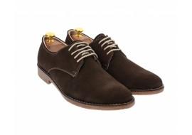 Pantofi barbati casual din piele naturala intoarsa - 855MVEL