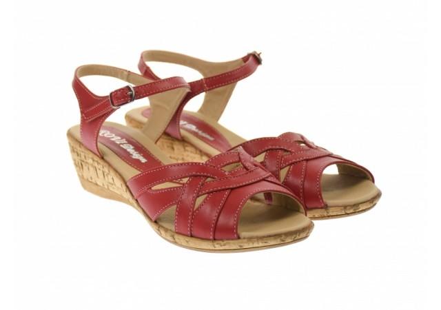 Oferta marimea 37 - Sandale dama din piele naturala  LS3R