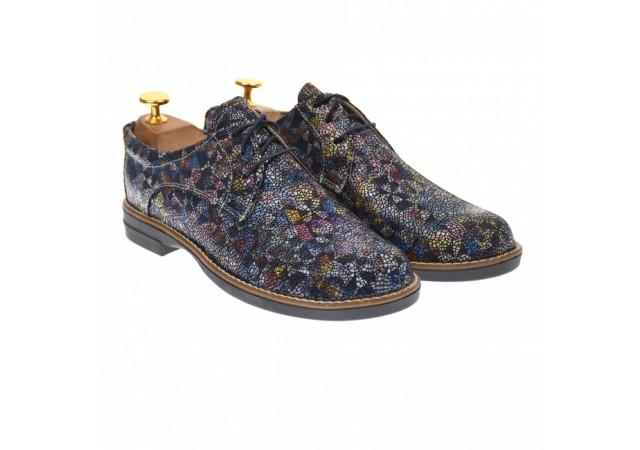 Oferta marimea 40 - Pantofi dama casual de toamna, din piele naturala - LP102NCOLOR