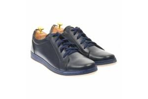 Pantofi barbati sport din piele naturala, Made in Romania - TIMSBLUE
