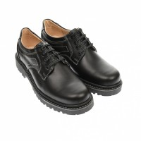 Oferta marimea 43 - Pantofi barbati, casual din piele naturala, model toamna, iarna, LMARK3NA