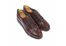 Pantofi dama casual din piele naturala, maro - P502M