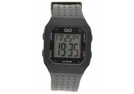 Ceas Digital Barbati Q&Q, Negru/Alb - M158J001Y