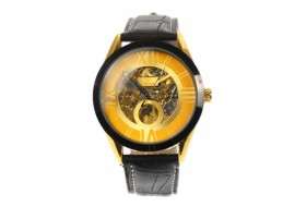 Ceas barbati automatic, business, elegant GOER, auriu - G200NGOLD