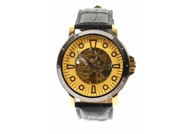 Ceas barbati automatic, business, elegant GOER, auriu - G204NGOLD