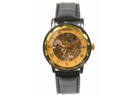 Ceas barbati, automatic, business, elegant GOER, auriu - G202NGOLD