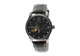 Ceas barbati design cu luna si stele, automatic, business, elegant, argintiu - G208N