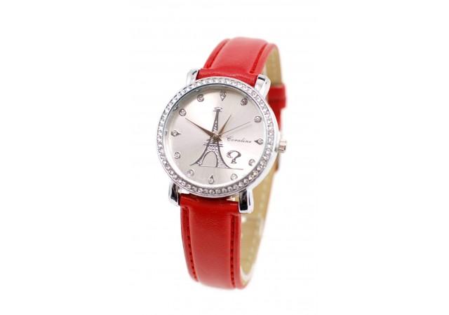 Ceas dama elegant Coraline, Crystal Shine - KR1735RED