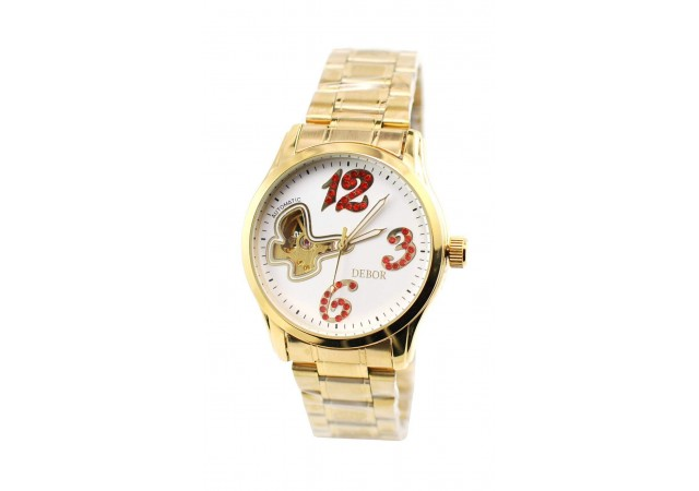 Ceas dama elegant Debor Automatic Gold D21GOLD