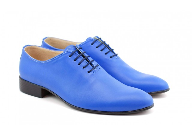 Oferta marimea 44 Pantofi barbati eleganti din piele naturala ENZO BLUE SKY LENZOBSK