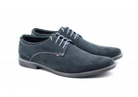 Pantofi barbati casual din piele naturala intoarsa VELGRI1