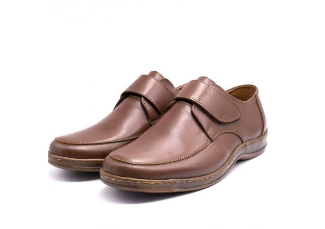 Pantofi barbati fara sireturi din piele VIC1960