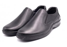 Pantofi Casual Barbati din piele cu elastic VIC2200