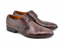 Pantofi barbati eleganti din piele naturala - 032MBOX