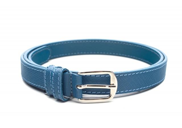 Curea Dama 17 albastru staffiano 1,8cm SR18AS