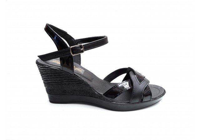 Sandale dama din piele naturala KASS - S418N