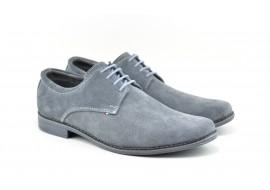Pantofi barbati casual din piele naturala intoarsa VELGRI2