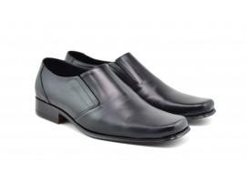 Pantofi barbati eleganti din piele naturala, cu elastic - STDX3EL