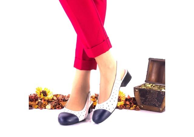 Pantofi dama casual din piele naturala NA252