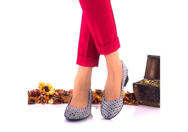 Pantofi dama casual din piele naturala NA234