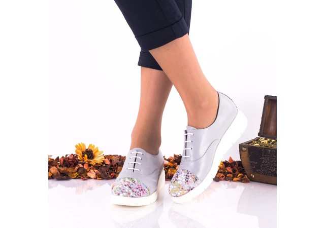 Pantofi dama casual din piele naturala NA268