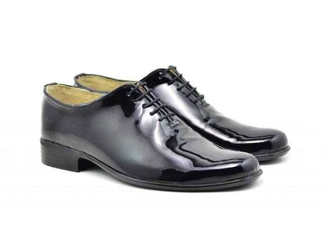 Oferta marimea 39 pantofi barbati eleganti din piele naturala - MOD1NLAC