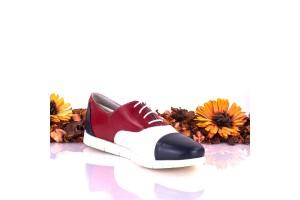 Pantofi dama casual din piele naturala - NA147