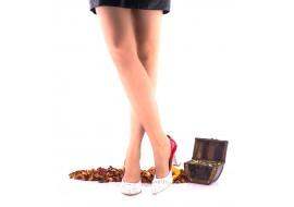 Pantofi dama rosii din piele naturala lacuita cu ziar toc 7cm - NAA8C