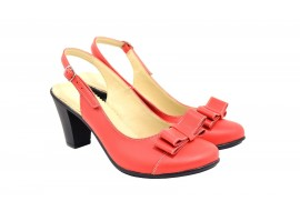 Lichidare marimea 39 Sandale dama elegante din piele naturala - Made in Romania LS100RBOX
