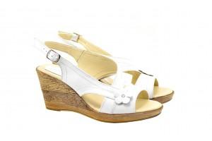 Sandale dama cu platforma din piele naturala S10XA