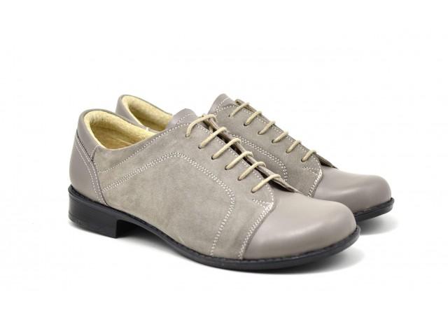 Pantofi dama casual-eleganti din piele naturala P53GRIBV