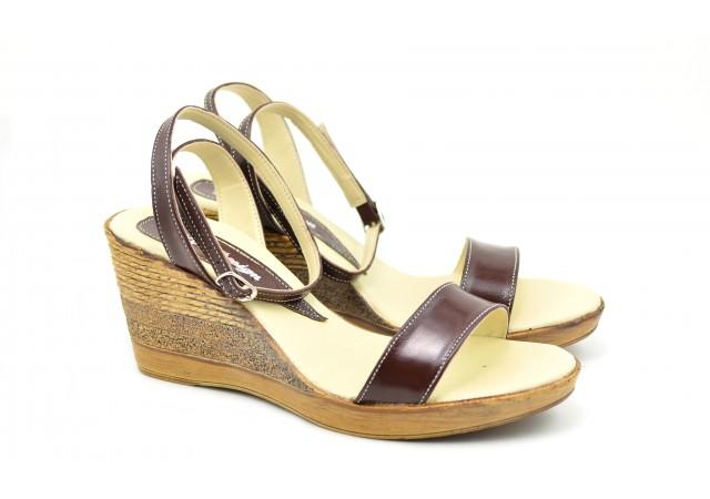 Sandale dama din piele naturala, Made in Romania - S107CON