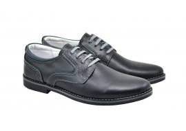 Oferta marimea 40 Pantofi barbati casual din piele naturala - LDANY