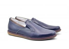 Oferta marimea 42 Pantofi barbati sport - casual din piele naturala, cu elastic - LTENBOXEBL
