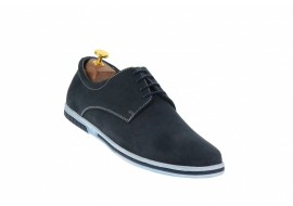 Pantofi sport, casual barbati din piele naturala intoarsa - TENBUFBLC