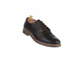 Pantofi barbati casual din piele naturala, 411MARO