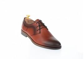 Pantofi barbati casual din piele naturala maro - 240M
