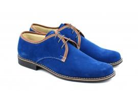 Pantofi barbati casual - eleganti din piele naturala intoarsa - CARLO BLEUMARIN